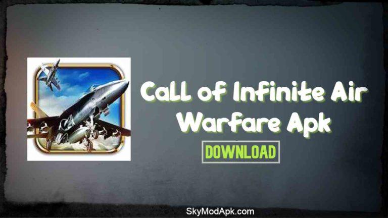 call of infinite air warfare mod apk