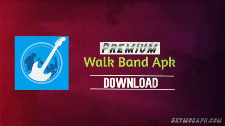 walk band premium apk