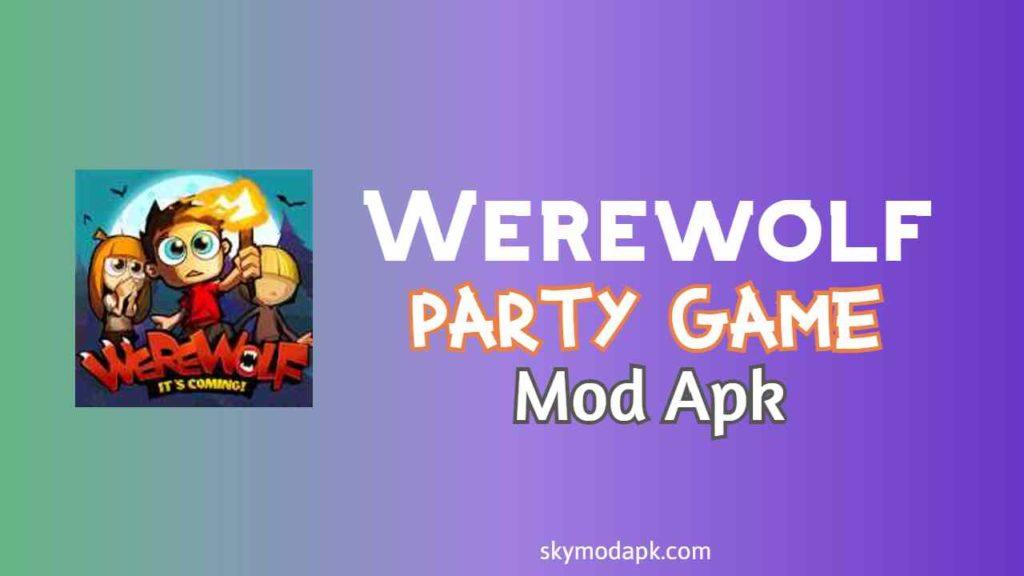 werewolf party game mod apk download